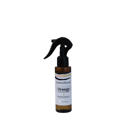 Essential Oil Orange Sanitizer Spray 3 oz