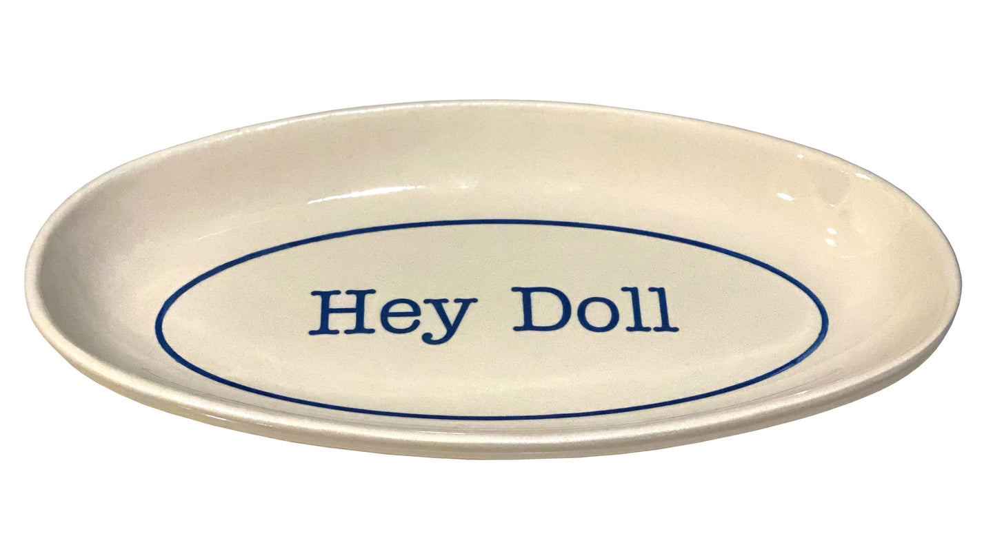 Hey Doll Plate