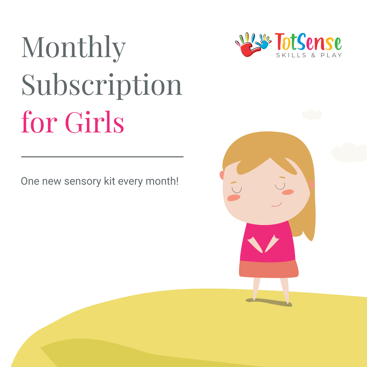 3 months Subscription for Girls