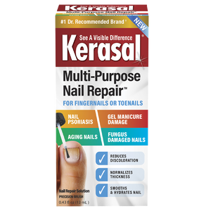 Kerasal® Multi-Purpose Nail Repair™, Nail Solution for Discolored and Damaged Nails, 0.43 fl oz