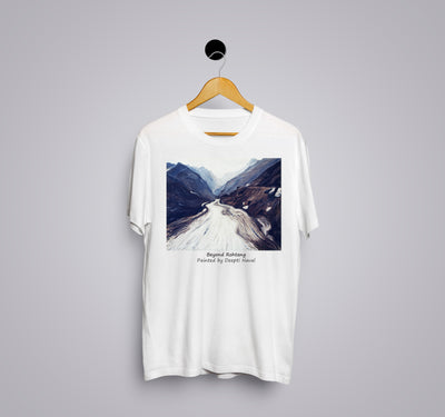 Beyond Rohtang by Deepti Naval - Printed T-Shirt