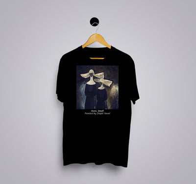 Nuns small by Deepti Naval - Printed T-Shirt