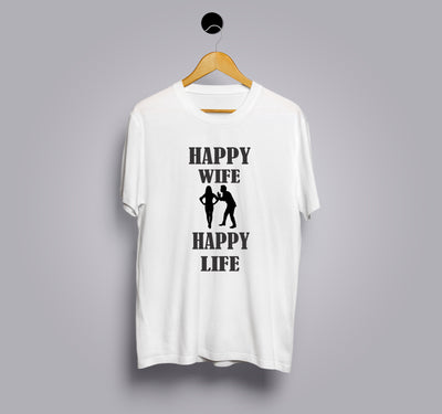 Happy wife Happy Life Tshirts