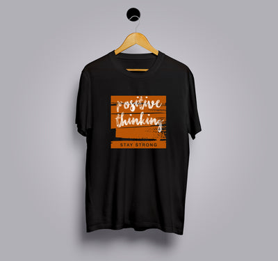 Positive Thinking - Printed T-Shirt