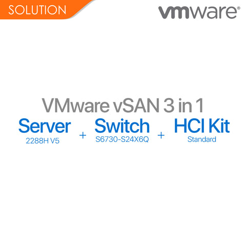 VMware - vSAN Solution Package (3 in 1)