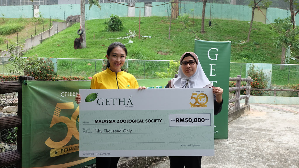 GETHA CELEBRATES 50th ANNIVERSARY WITH ORANGUTANS OF ZOO NEGARA