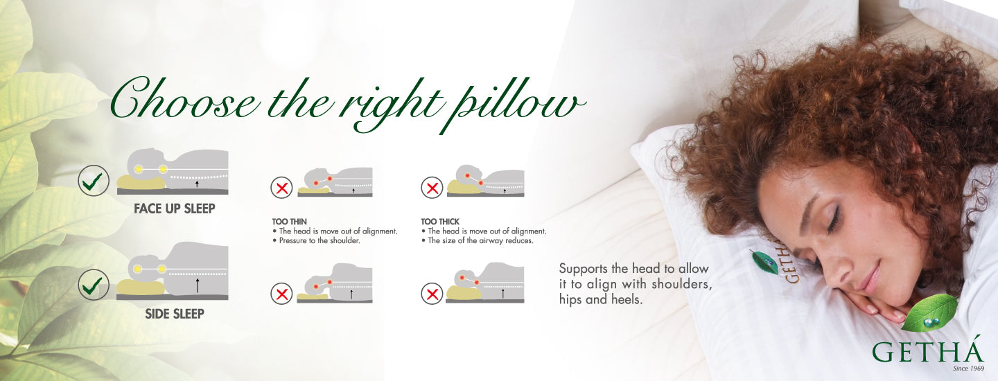 choose the right genetics latex pillow