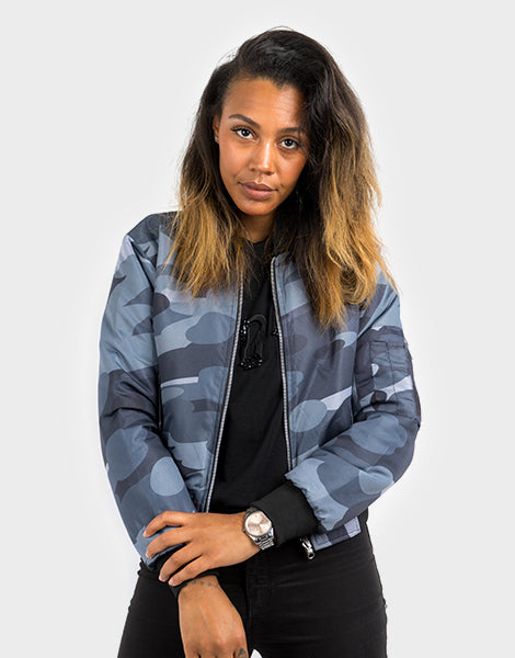 WOMEN'S REVERSIBLE CAMO JACKET