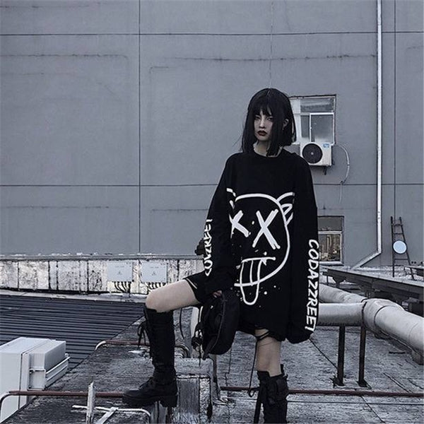 Korean Hip-Pop Anime Punk Sweater
