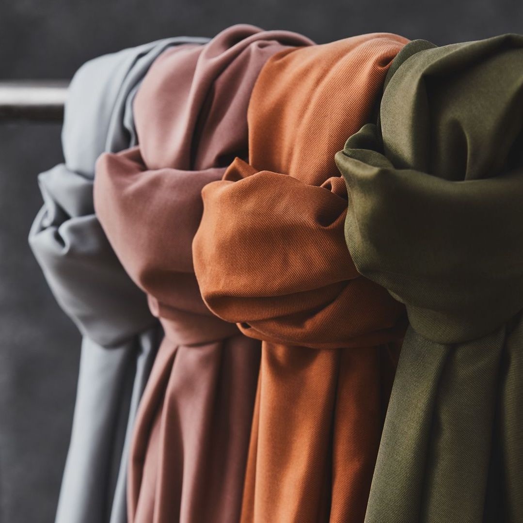 Tencel™ twill | Smooth Drape Rust