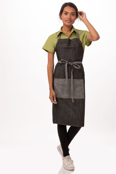 MANHATTAN BIB APRON