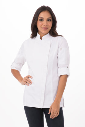 HARTFORD WOMENS CHEF COAT