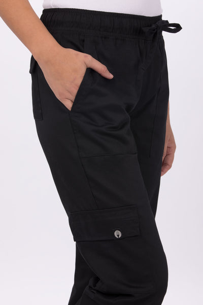 WOMENS CARGO CHEF PANTS