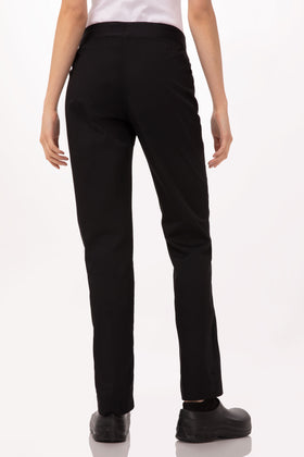 WOMENS LIGHTWEIGHT SLIM CHEF PANTS