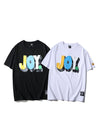OEYES x UPSOAR FAMILY Loose-Fitting Letter Print T-Shirt
