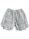 Multi-Pocket Loose Straight-Leg Cargo Shorts