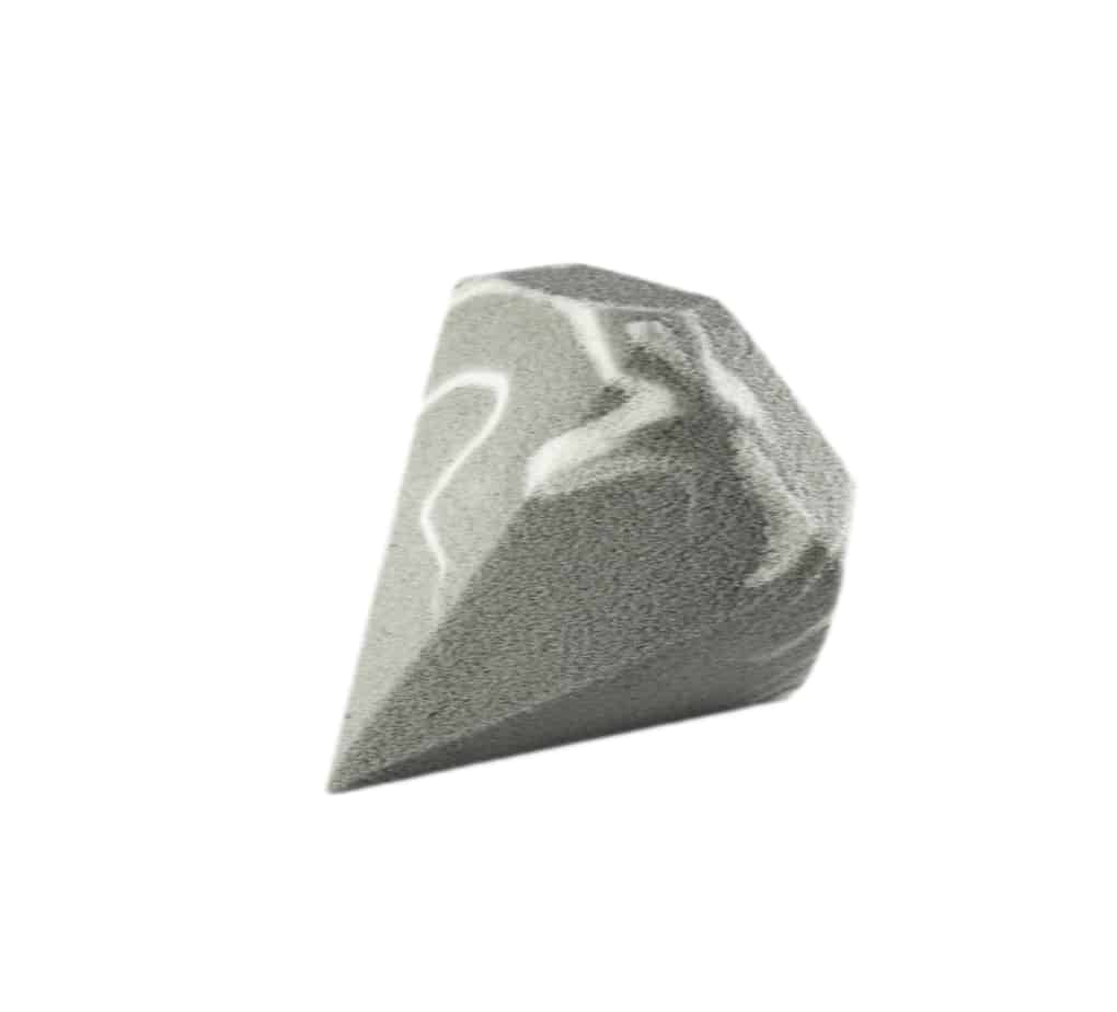 Diamond sponge gray