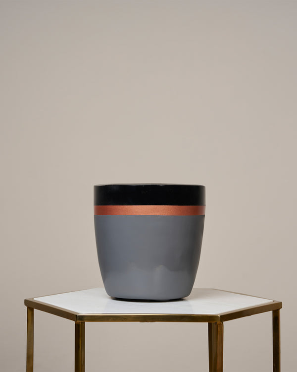 MONACO - NOIR BLACK PLANTER