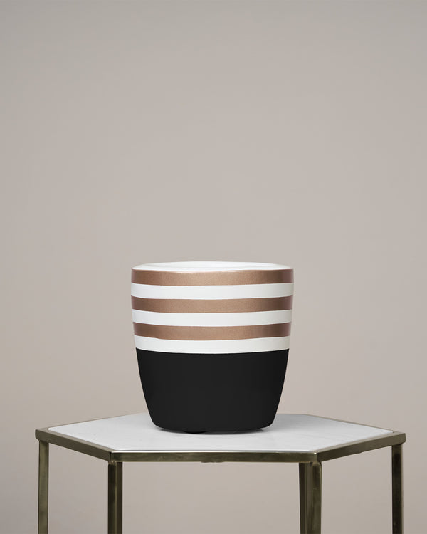 GOLD COAST - NOIR BLACK PLANTER