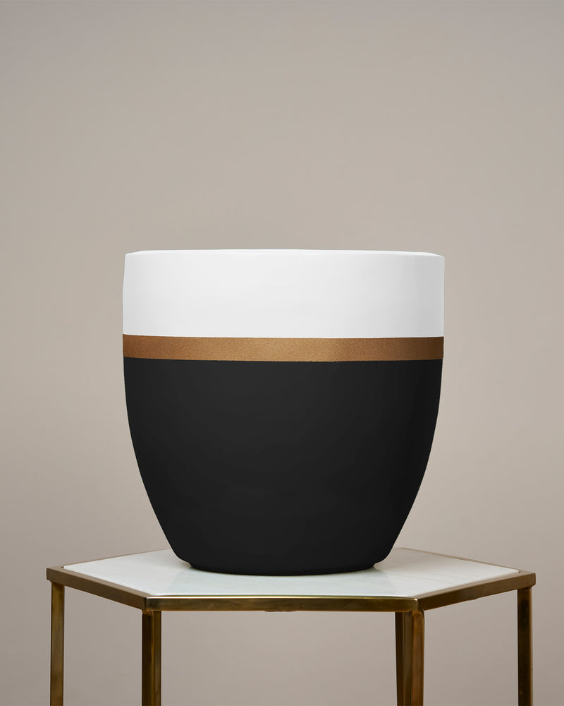 MONACO - SCANDINAVIAN WHITE PLANTER