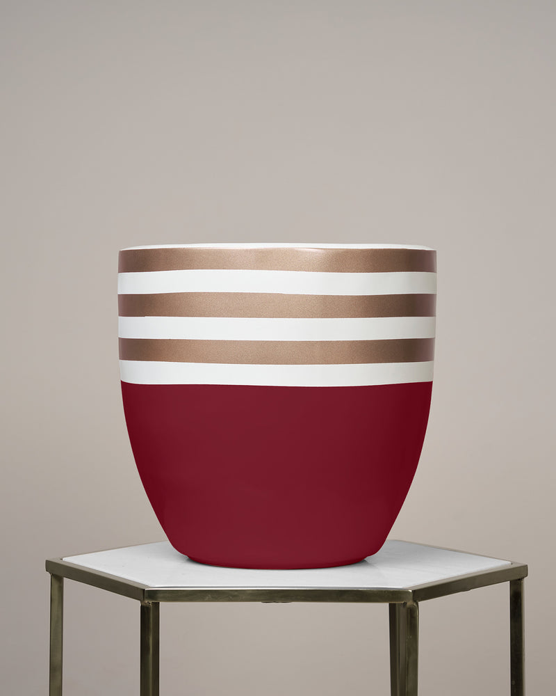 GOLD COAST - ROUGE MAROON PLANTER