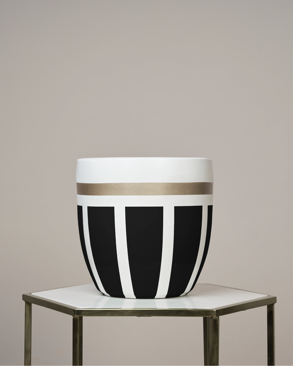 JAIPUR - NOIR BLACK PLANTER