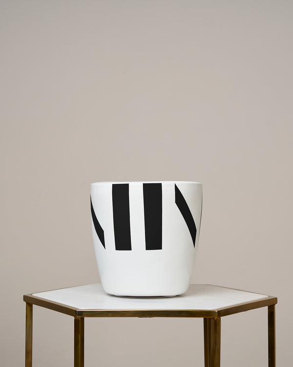 IBIZA - NOIR BLACK PLANTER