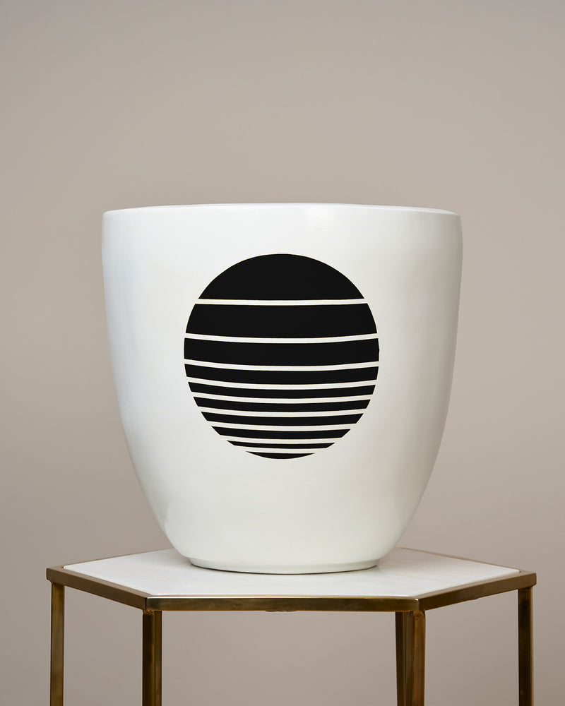 OSAKA - NOIR BLACK PLANTER