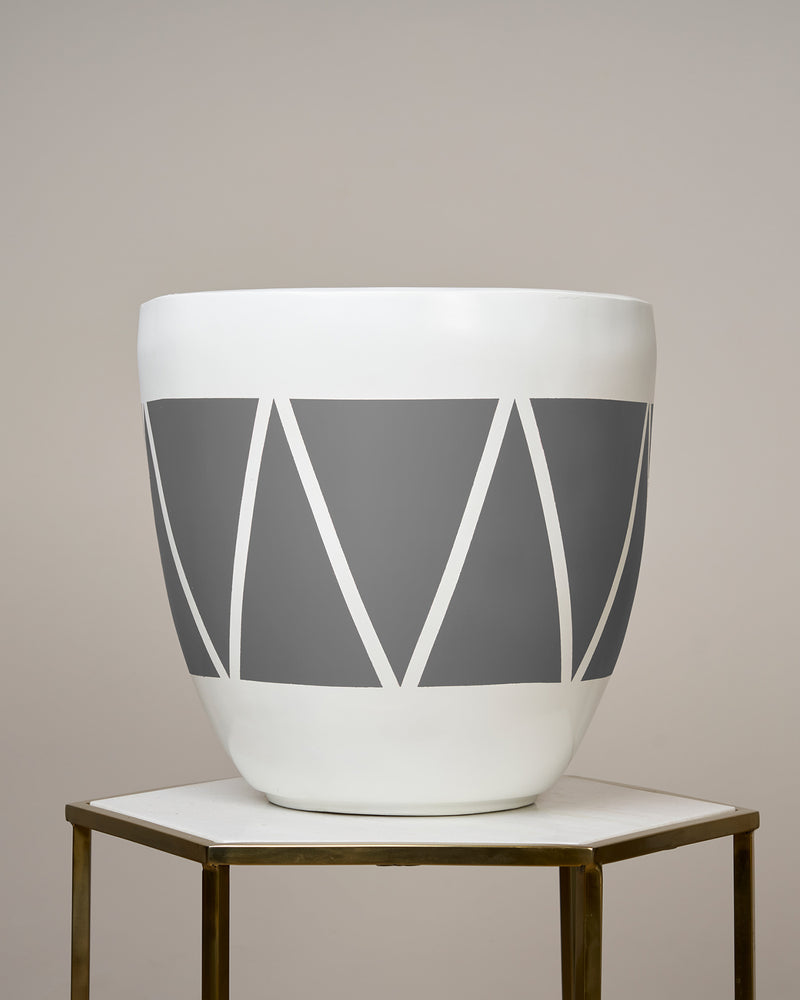 CAIRO - NORDIC GREY PLANTER