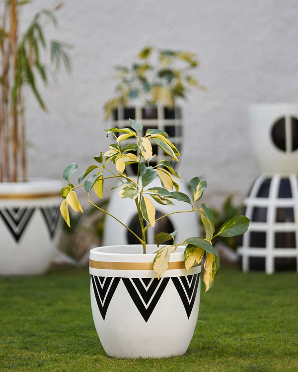 PERU - NOIR BLACK PLANTER