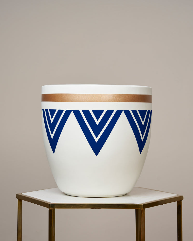 PERU - INDIGO BLUE PLANTER