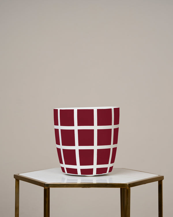 MOSCOW - ROUGE MAROON PLANTER
