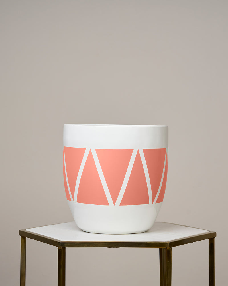 CAIRO - CORAL PEACH PLANTER