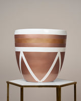 AMALFI - ROSE GOLD PLANTER