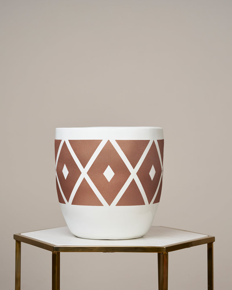MOROCCO - ROSE GOLD PLANTER