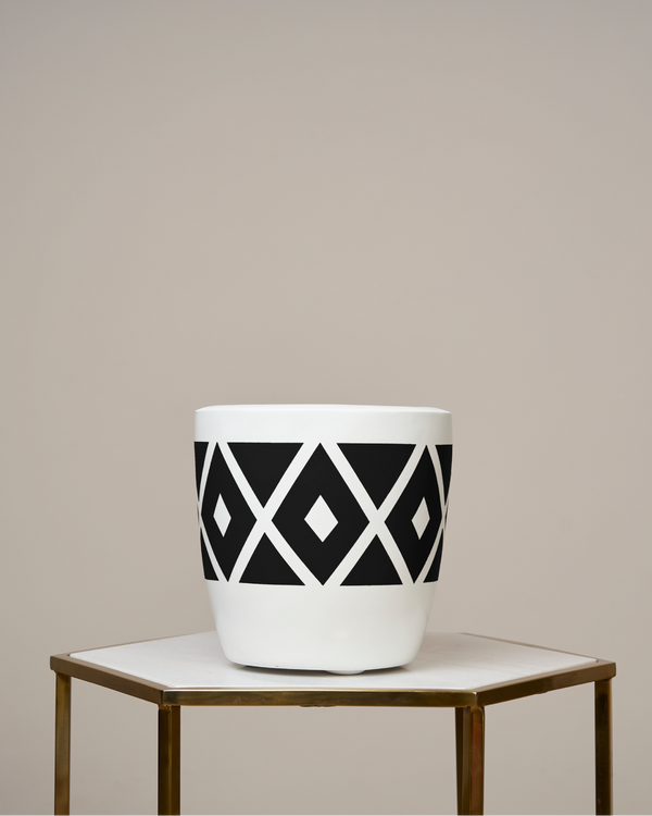 MOROCCO - NOIR BLACK PLANTER