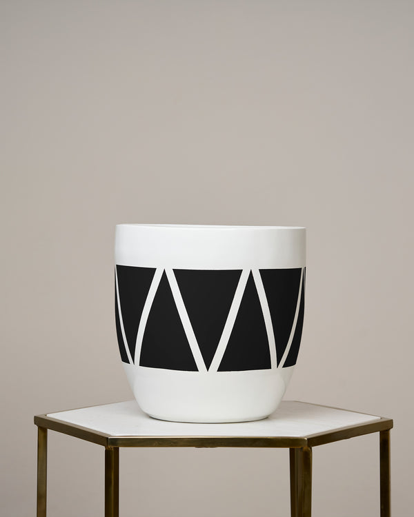 CAIRO - NOIR BLACK PLANTER
