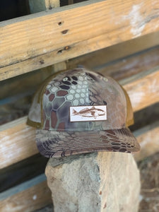 Redfish (on Silver colored hat)