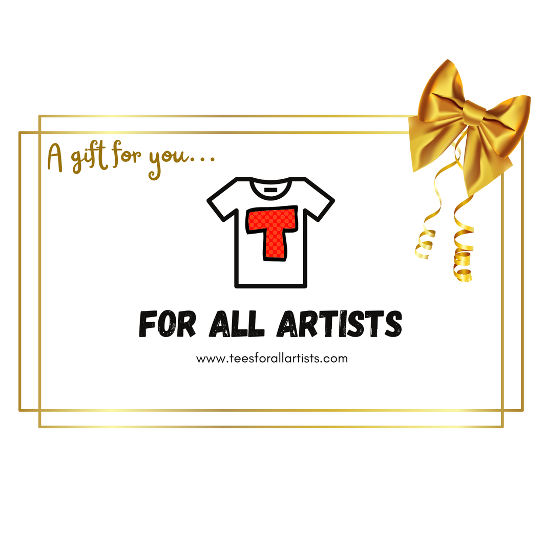 For All Artists Gift Card