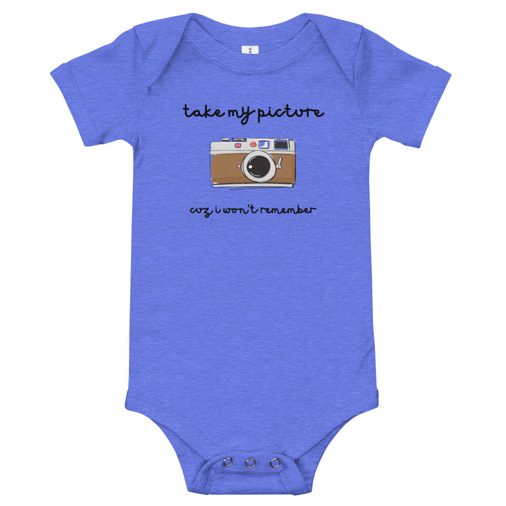 Take My Picture- Baby Onesie