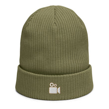 Load image into Gallery viewer, Cinema Camera- Organic Ribbed Beanie