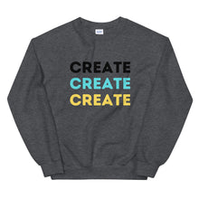 Load image into Gallery viewer, CREATE- Unisex Sweatshirt