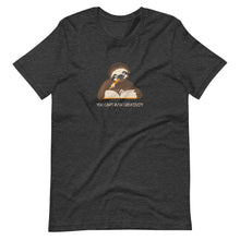 Load image into Gallery viewer, You Can't Rush Creativity- Short-Sleeve Unisex Sloth T-Shirt
