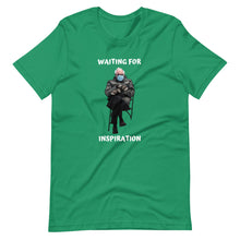 Load image into Gallery viewer, Waiting For Inspiration- Short-Sleeve Unisex T-Shirt