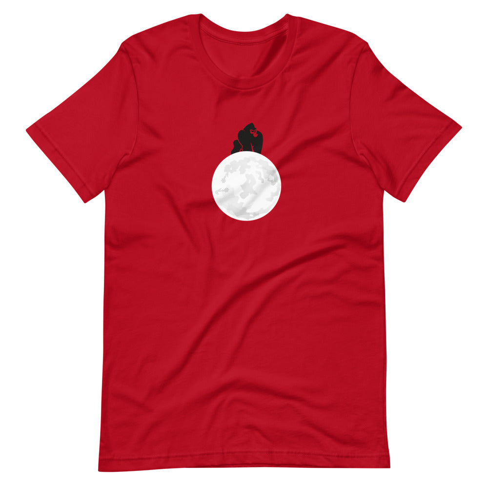 Apes to the Moon! -Short-Sleeve Unisex T-Shirt