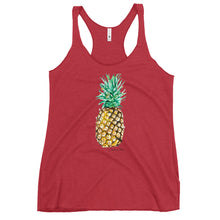 Load image into Gallery viewer, Pineapple by Christina Collins- Women's Racerback Tank