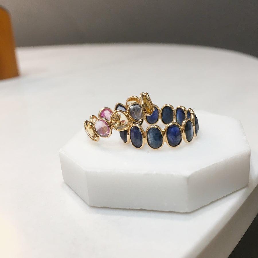 Color Sapphire Eternity Ring