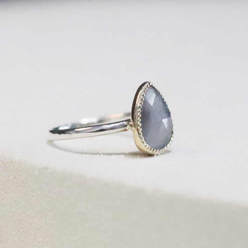 Sapphire Combination Ring