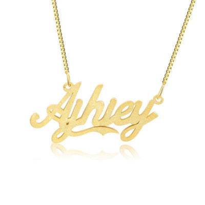 Personalized Custom Cursive Name Necklaces for Women Gold/Rose Gold/Silver Color Nameplate Pendants Jewelry Gift