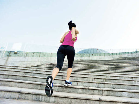 burn belly fat in 15 minutes by walking stairs